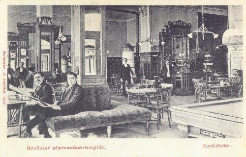 Marosvásárhely:Korsó kávéház.1905