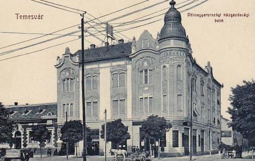 Temesvár:Dél magyarországi Közgazdasági Takarék Bank.1908