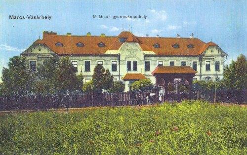 Marosvásárhely:magyar királyi állami Gyermekmenhely.1912