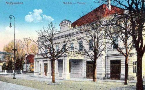 Nagyszeben:Szinház.1912