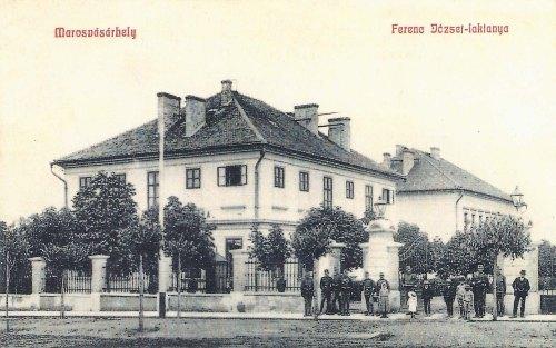 Marosvásárhely:Ferenc József laktanya.1909