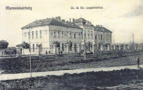Marosvásárhely:császári és királyi csapatkorház.1912