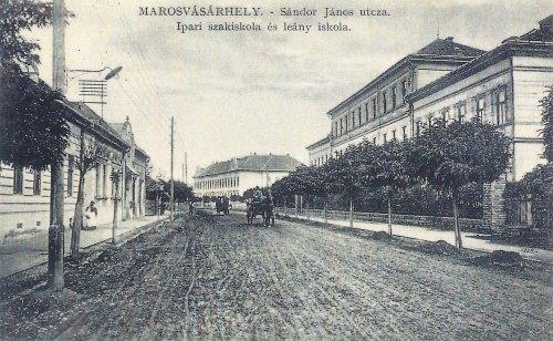 Marosvásárhely:Sándor János utca(ma Dózsa György).1911