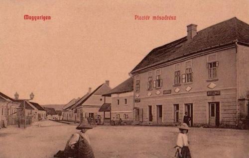 Magyarigen:piac tér.1909