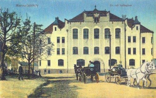 Marosvásárhely:református gimnázium.1913