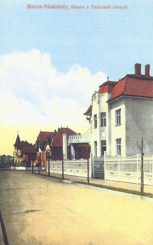 Marosvásárhely:tisztviselő telep.1913