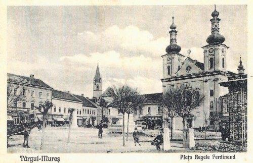 Marosvásárhely:Petőfi emlékmű még a helyén,Kossuth szobor már eltávolitva!1928