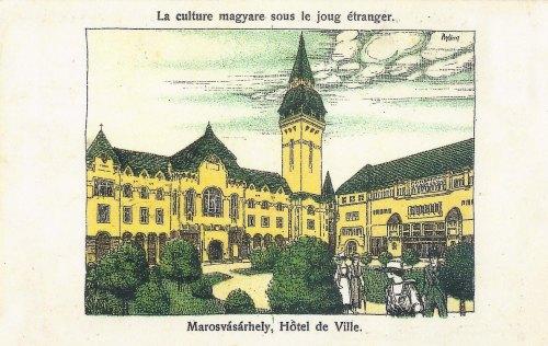 Marosvásárhely:Hotel de Ville.1919
