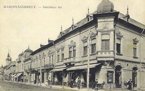 Marosvásárhely:Korzó kávézó.1912