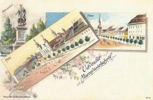 Marosvásárhely,kőnyomat 1898 május 21