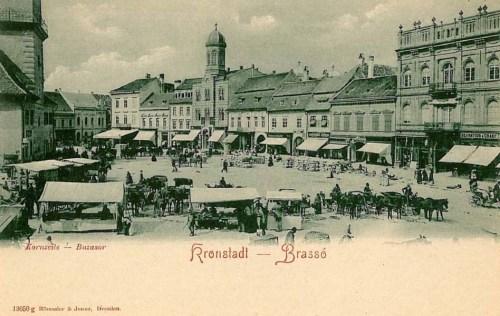 Brassó:buza sor,piac.1901
