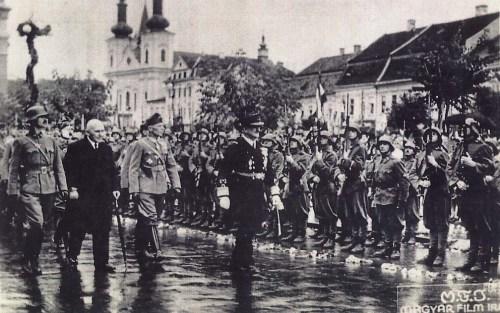 Marosvásárhely:Horthy Miklós.1940 szeptember.16.
