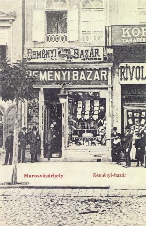 Marosvásárhely:Reményi bazár.1909
