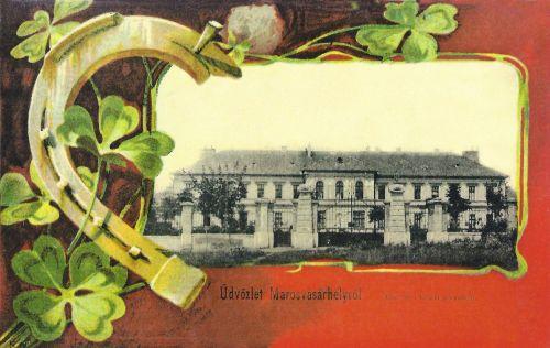 Marosvásárhely:Ferenc József laktanya 1901