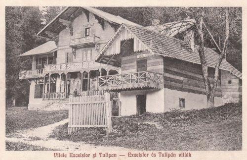 Borszék:Excelsior és Tulipán villák.1932