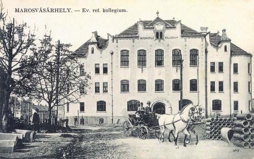 Marosvásárhely:református kollégium(Bolyai liceum).1912