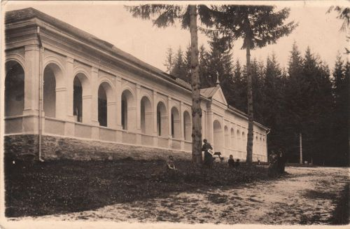 Borszékfürdő: ferences rendi Caritas villa1883(Transilvania Hotel).1932