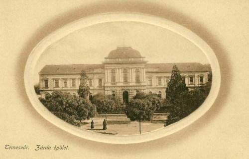 Temesvár:zárda épület.1912