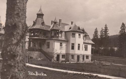 Borszékfürdő:Borka villa.1937