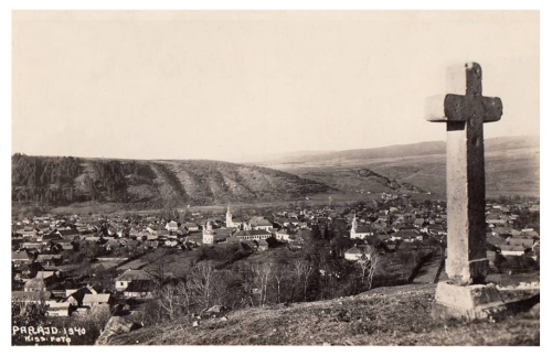 Parajd:látkép.1940