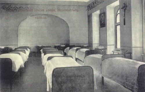 Marosvásárhely,Ferences rendi zárda,hálóterme. 1912
