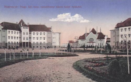 Nagyvárad:csendőrségi iskola,belső épület.1913