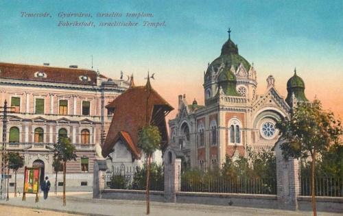 Temesvár:izraelita templom (Gyárváros).1914