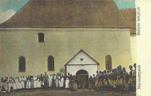 Marossárpatak:református templom.1916