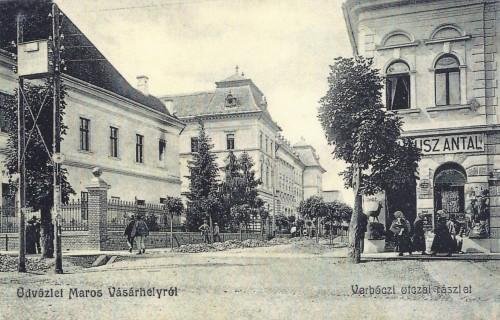 Marosvásárhely:1897-ben épült Törvényszék a Werbőczi utcában.1907