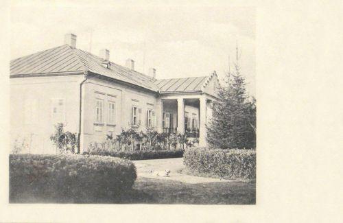 Abosfalva:Apor család kastélya.1904
