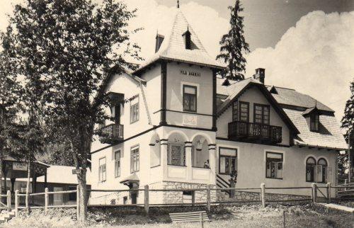 Borszék:Agarici villa,Erzsébet panzió,1936.