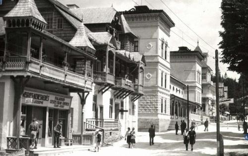 Borszék:Ágnes villa,Szabó falatozó,vegyeskereskedés,1942.