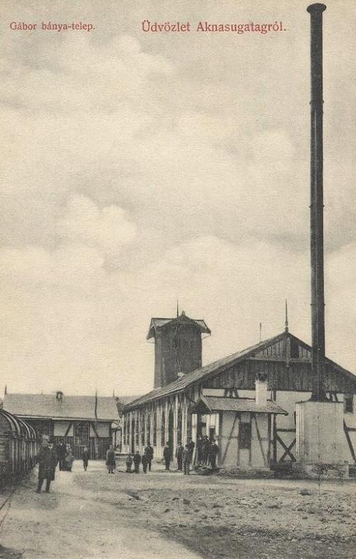Aknasugatag:Gábor bánya.1909