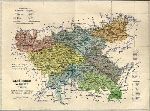 Nagyenyed:Alsó-Fehér vármegye,nagyenyedi járás.
