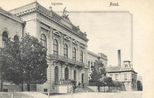 Arad:liceum (gimnázium).1904