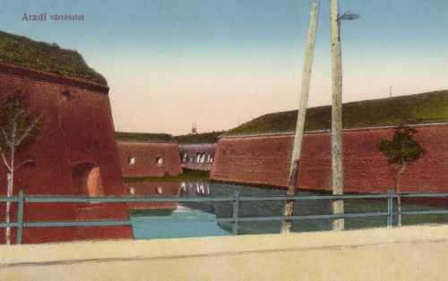 Arad:vár árok.1913