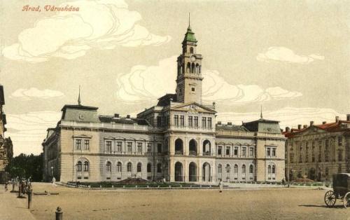 Arad:városháza.1916
