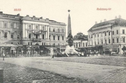 Arad,1848-as ereklye Múzeum,Szentháromság szobor 1908