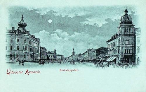 Arad:Andrássy tér.1899