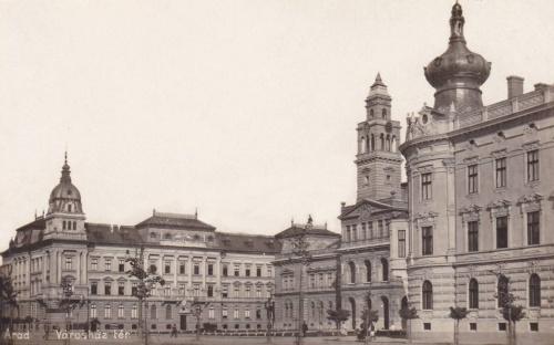 Arad:városház tér.1913