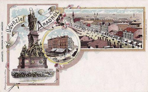 Arad:kőnyomat.1899