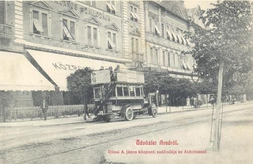 Arad:autobusz.1908