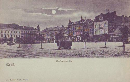 Arad:Szabadság tér.1899