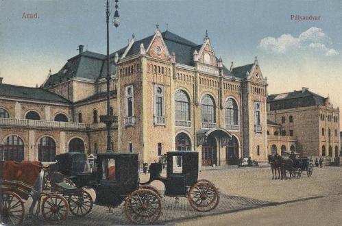 Arad,Pályaudvar 1913
