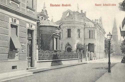 Arad:Szent László utca.1909