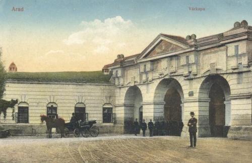 Arad,várkapu 1909