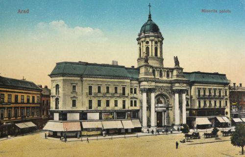 Arad:Minorita templom.1915