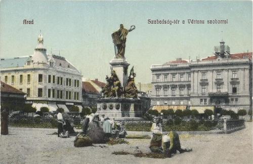 Arad:1848 Szabadság szobor .1908