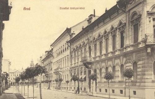 Arad:Erzsébet királyné körút.1912