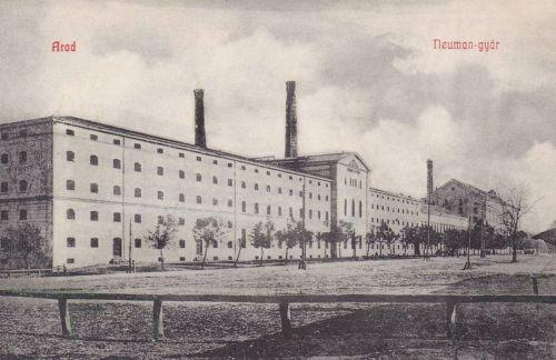 Arad:Neumann szeszgyár.1908
